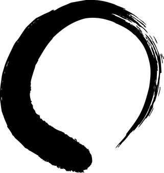 Round brush's circle