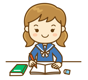 공부하는 학생