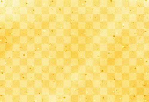 수화 무늬 배경 / 체크 / 금