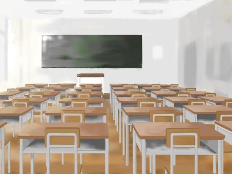 School・classroom