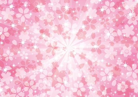 Glittering cherry