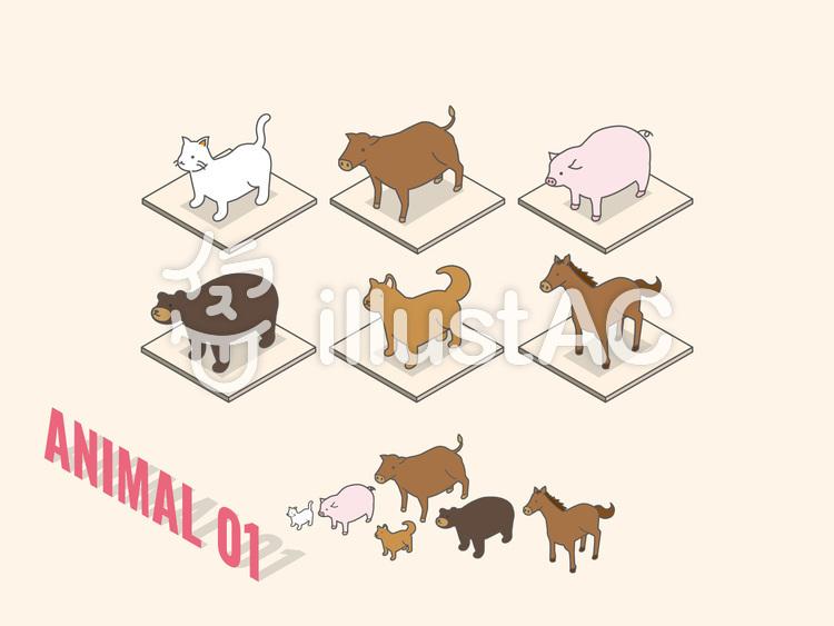 animal_01のイラスト