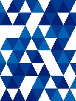 Triangle background material 03 / blue a
