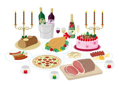 Christmas food set
