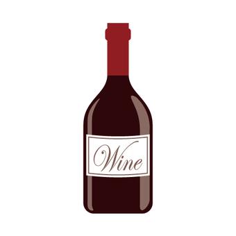Wine bottle (with logo type)