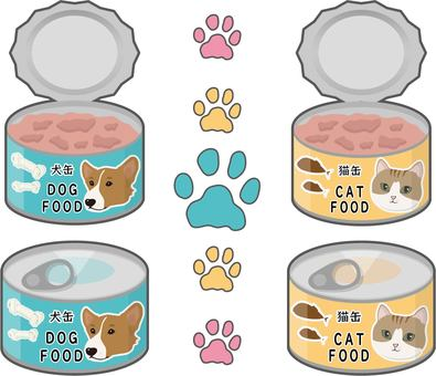 Cat can / dog can rim set