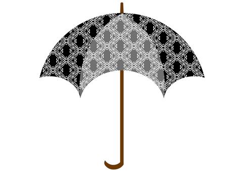 Arabesque pattern umbrella 3