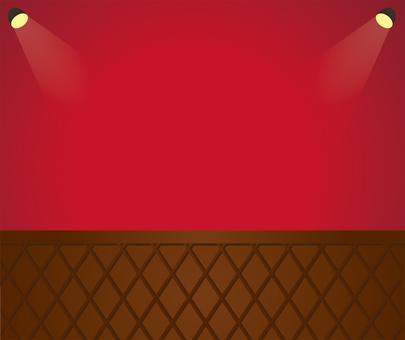 벽 조명 빨간색 1