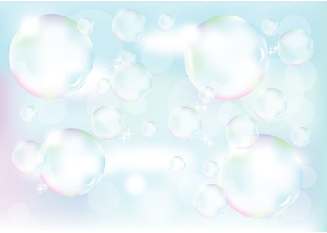 Soap bubble image sky
