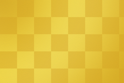 Golden checkered pattern