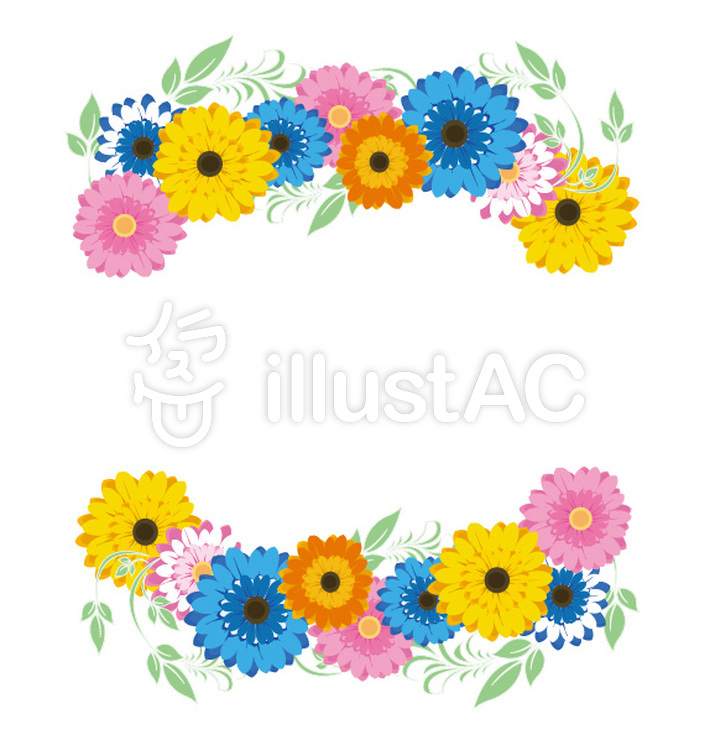 Imágenes prediseñadas gratis: flor, marco, flores, marco decorativo ...