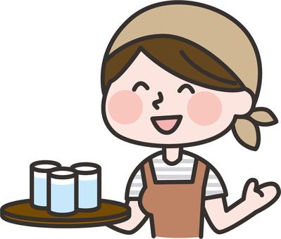 Cafe female 03