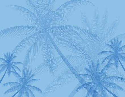Palm tree 3_ silhouette