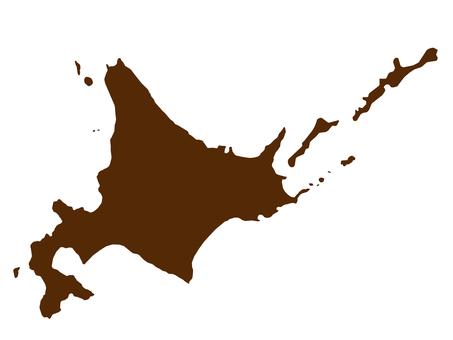Hokkaido map [1]