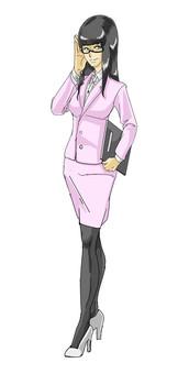 Female secretary