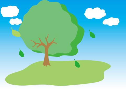 Wood background illustration