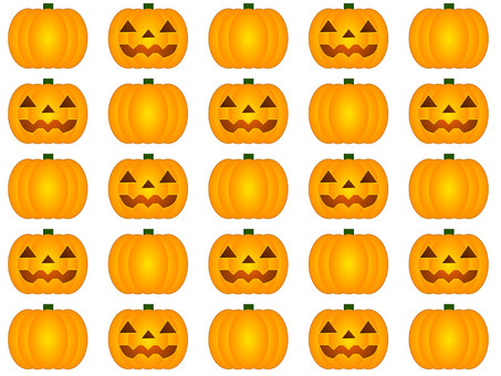 Pumpkin background (medium)