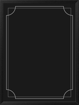 Wood grain frame blackboard 2