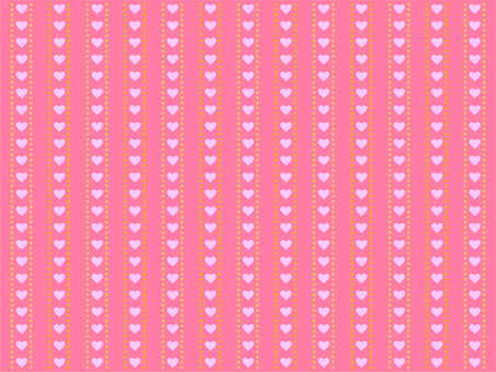 Heart pattern background (rose color)