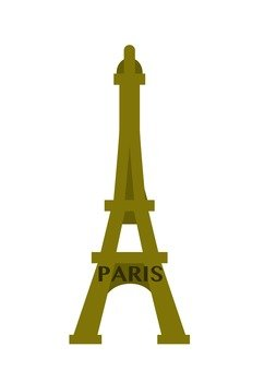 Eiffel Tower (gold)