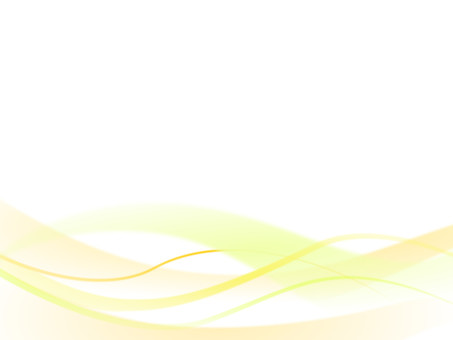 Wave and curved background material Yellow yellow series