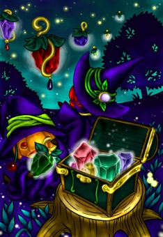 神奇的燈和巫婆魔術師