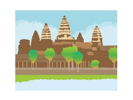 Landscape of Angkor Wat