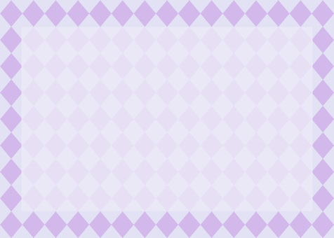 Diamond pattern frame purple