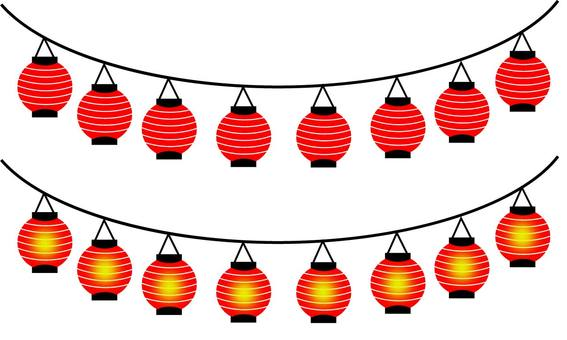Summer festival lantern