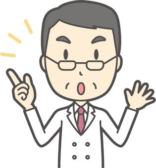 中年男性医師-297-バスト