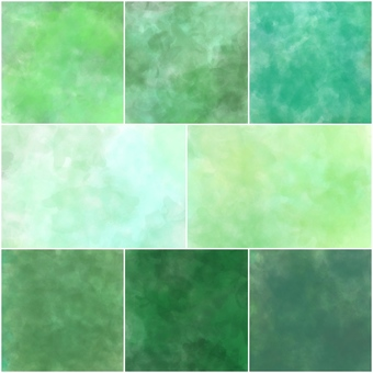 컬러 팔레트 (녹색)