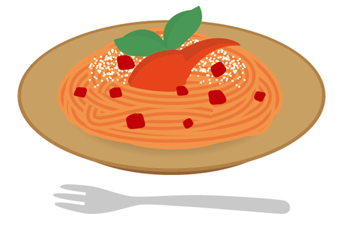 Pasta tomato cream crab