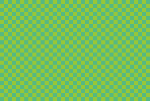 Checkered pattern green 07