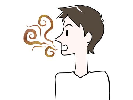 Male bad breath
