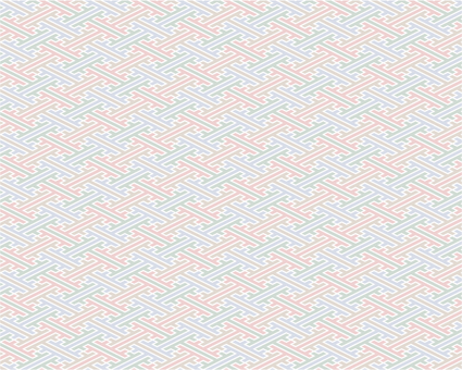 Saji pattern _ tea _ thick