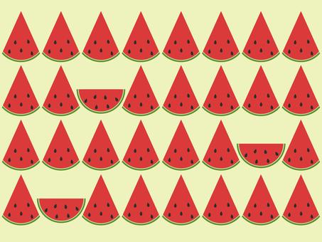 Watermelon background yellow