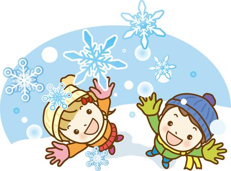 Snow play 01