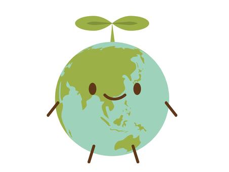 지구의 캐릭터 1
