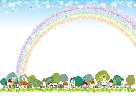 Townscape _ Rainbow