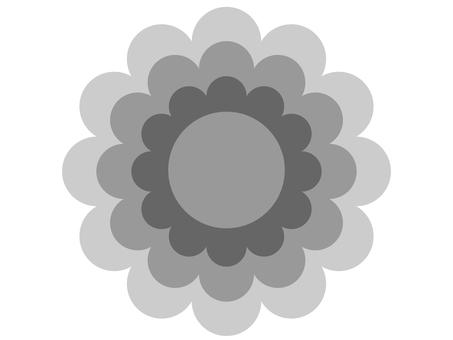 Flower type (monochrome)