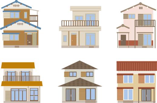 中古住宅 6軒