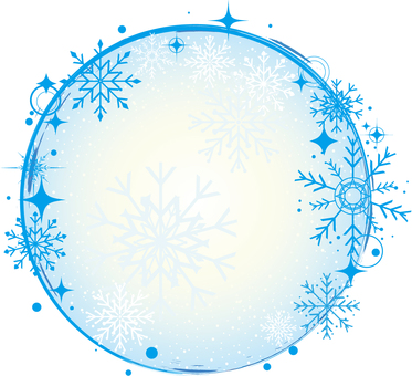 Snowflake Frame 01