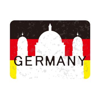 German travel label