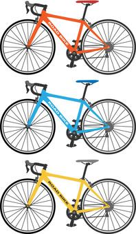 Road bike 1 left side