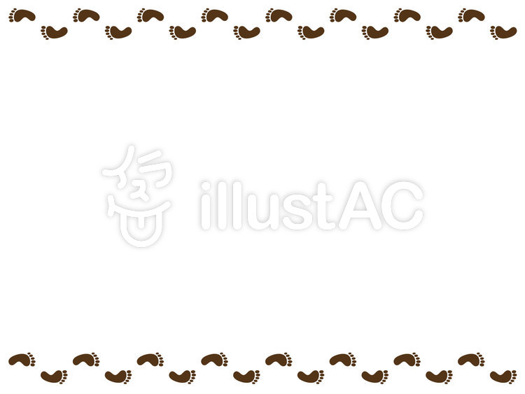 free cliparts footprints leg foot frame 479281 illustac