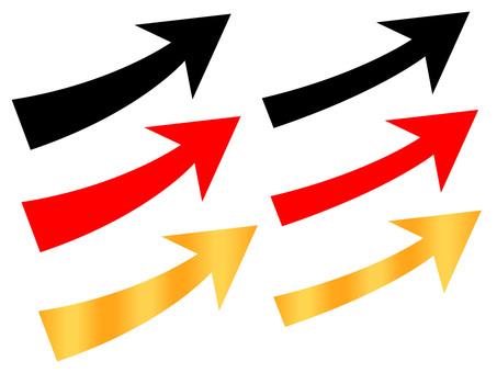 Business arrow 2