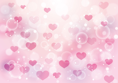 Heart and sparkling background 15