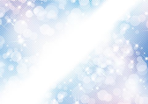 Blue Glitter 48