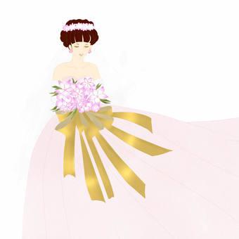 Wedding dress P
