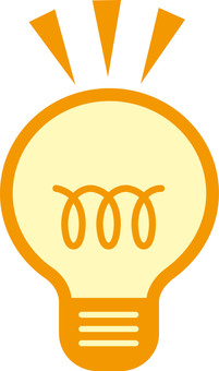 Light bulb / inspiration / invention image icon